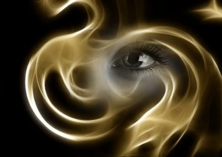 """Soul Eye Smoke Light Sad"" by Geralt / Pixabay / CC0 Public Domain"