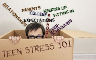 Stress statistic teen