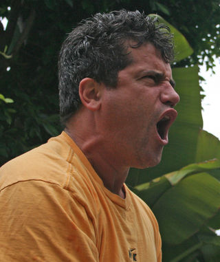 Yelling Man / Flickr