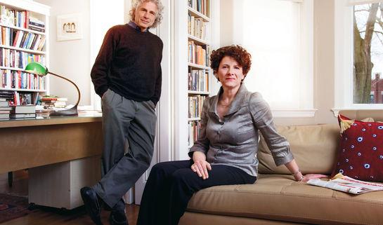 Image: Siblings Susan and Steven Pinker