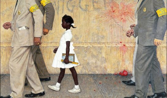 Wikipedia Norman Rockwell 'Problem We All Live With'