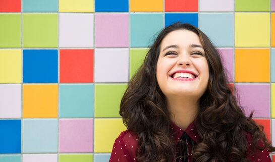 Happy woman. asife/Shutterstock