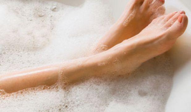 Ahhh...the Value of a Warm Bath