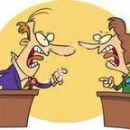 A Bloggers' Quarrel