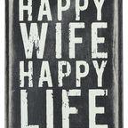 Happy Wife, Happy Life?