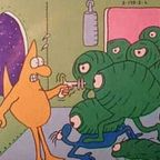 The Awful Green Things From Outer Space and Experimental Design