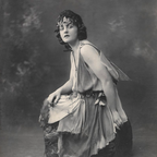 """""""Mary Poppins"""" author P.L. Travers in a production of Shakesepeare's """"A Midsummer Night's Dream"""""""
