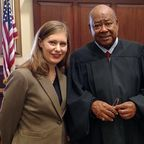 Bethany with a mental health court judge