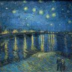 Starry Night Over the Rhône (1888)