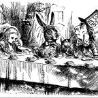 Public domain image by John Tenniel.