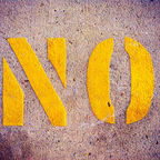 """No"" by Martin Howard.  Flickr Creative Commons."
