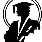 """female-graduate-silhouette""/Karen Arnold CC0 Public Domain"