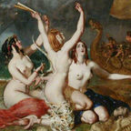"William Etty, ""The Sirens and Ulysses"""