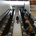 """Escalator and Stairs,"" Image by Karen Mardahl, Wikimedia, CC2.0"