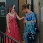 """""""Lady Bird"""" photograph by A24 Films via EPK TV. Used with permission."""