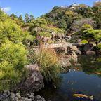 E. Paul Zehr. Gardens near Himeji Castle.