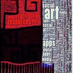 "© 2017 Cathy Malchiodi, PhD; ""Social Media Word Art,"" digital art created with the Word Photo app."