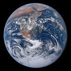 """The Blue Marble"" Photograph of Earth taken December 7, 1972 by NASA/Apollo 17 Crew / Wikimedia Commons / In the public domain per NASA"