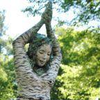 Wiawaka 'Birch Girl Sculpture' by Pam Golden