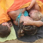 Wikimedia Commons/Breastfeeding at The Kontxa Beach/CC BY SA3.0
