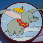 Dumbo the Flying Elephant by Loren Javier/Flickr made available via a Creative Commons Attribution-NoDerivs 2.0 Generic License.