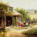 EL Henry - Unexpected Visitors/ Wikimedia Commons, public domain