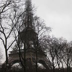 """Tour Eiffel in the Rain"" Copyright © 2009 By Deror Avi / Wikimedia Commons/ licensed under CC-BY-SA-3.0."