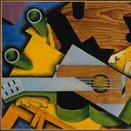Juan Gris, Still Life with Guitar, Public Domain CC0 1.0 Universal (CC0 1.0)
