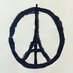 "Jean Jullien, ""Peace for Paris"""