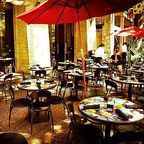 Riverwalk restaurant by Teejay Flickr Licensed Under CC BY 2.0