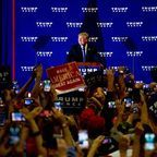 By Michael Candelori from Philadelphia (Donald Trump Rally 10/21/16) [CC BY 2.0 (http://creativecommons.org/licenses/by/2.0)], via Wikimedia Commons
