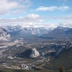 View from the top of Sulphur Mountain by D'Arcy Norman/Wikimedia Commons