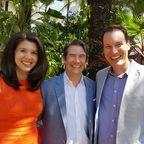 'Michelle Gielan, Dr. Woody & Shawn Achor'