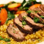 Rooibos Tea infused Duck Breast; Copyright Red Tail Productions, LLC