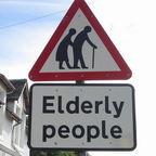 Elderly People Street Sign/flickr.com