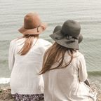 Two women at beach, Josh Felise, stocksnap.io, CCO License