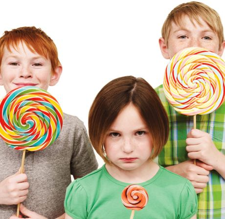 sibling lollipop photo