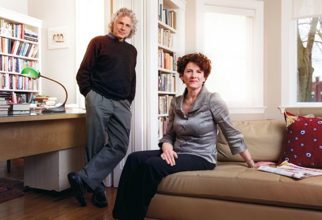 Siblings Susan and Steven Pinker