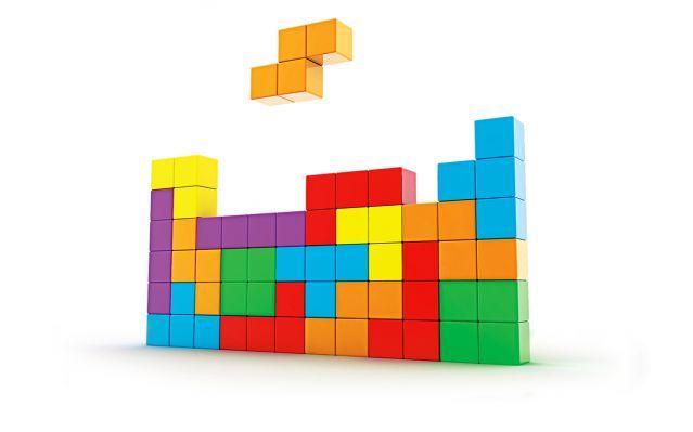 Tetris shapes