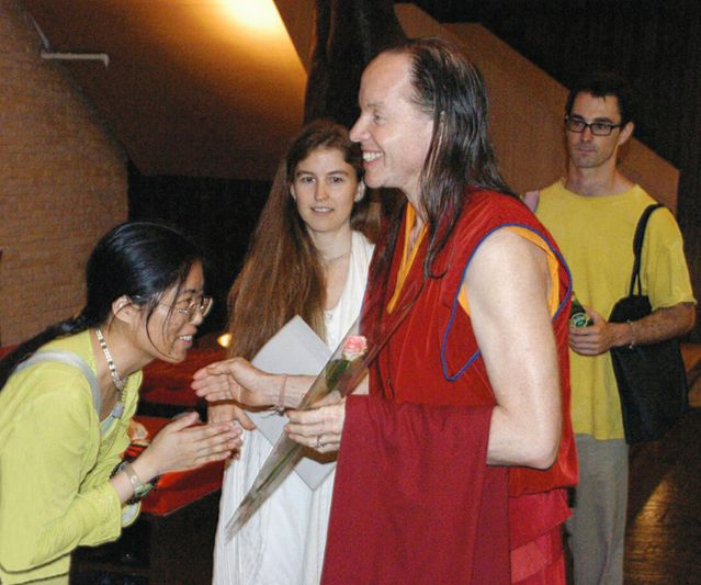 Geshe Michael Roach, Mcnally and Thorson in Hong Kong