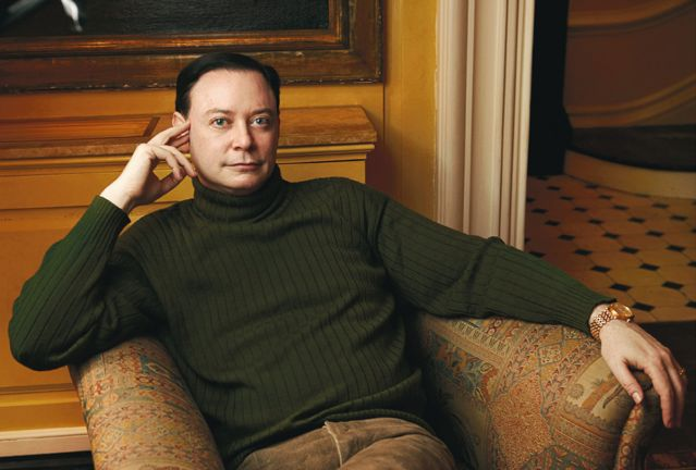 Andrew Solomon photo by Annie Leibowitz