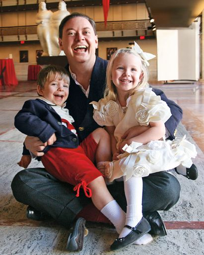 Andrew Solomon and children