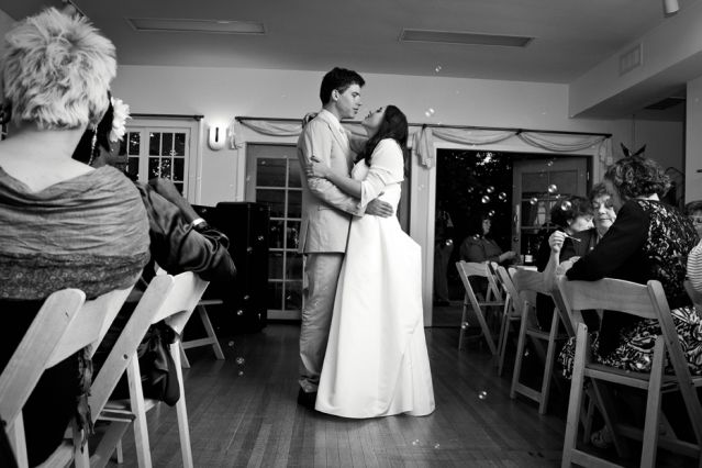 Aspen Matis dancing at her wedding with Justin