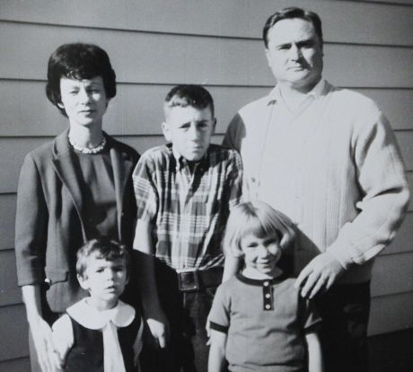 The Bambrough family 1960s