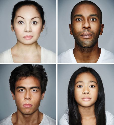 Ethnicity by facial characteristics that