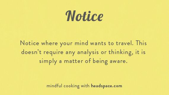 A Short Exercise in Mindful Cooking | Psychology Today