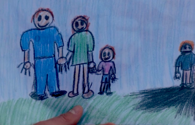 Dexter's family drawing