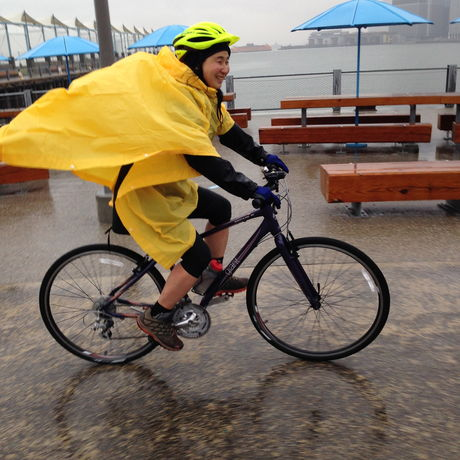Rainy Day Bike Ride -PattyChangAnker.com