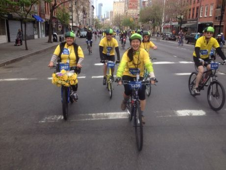 Bicycling NYC -PattyChangAnker.com
