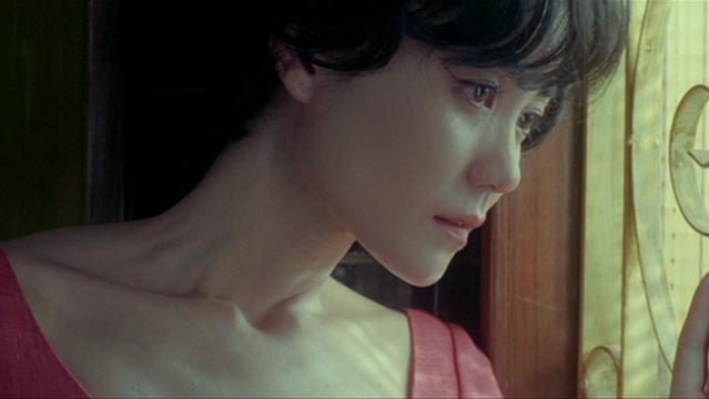 Faye Wong as Wang Jing-wen and android in 2046, Wong Kar Wai